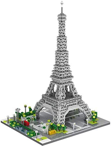 dOvOb Architecture Eiffel Tower Micro Blocks Set 3369 Pieces Mini Bricks 3D Puzzle Toy Gift product image