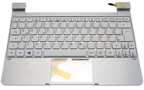 Original Acer Ersatztastatur / Keyboard (German) white Iconia W510 Serie