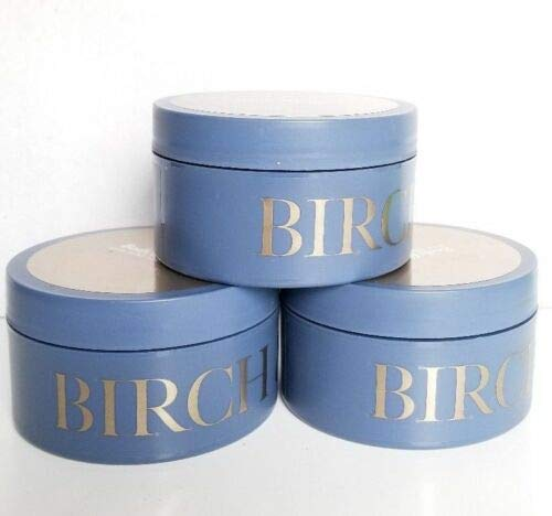 Bath and Body Works Birch & Argan Gift Set - Lot of 3 Body Butter Full Size