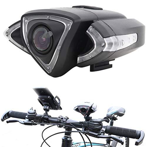 Amiispe Bike Cam, Fahrrad-Recorder mit WiFi-Handysteuerung, Fahrrad-Code-Tabelle, HD Camera Auto Autokamera WiFi Weitwinkel Fahrrad-Blinker-Echtzeit-Aufnahme