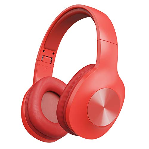 Letscom Wireless Headphones Over Ear with Hi-Fi Sound Mic Deep Bass