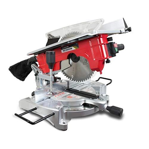Stayer 1.1760 Ingletadora de Ø260mm, SC 2600 W, 1900 W, Rojo/negro