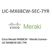 Cisco Meraki MX68CW Advanced Security License 7 Years LIC-MX68CW-SEC-7YR