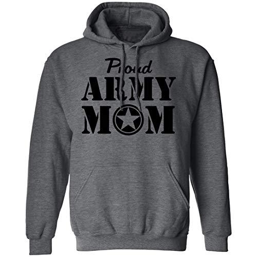 Proud Army Mom Hooded Sweatshirt in…