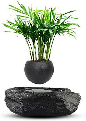 HIGHKAS Maceta de Flores, Maceta de bonsái de Aire levitante, macetas con suspensión de levitación magnética, Maceta Flotante de Flores en Maceta, decoración de la Oficina del hogar de la Planta -