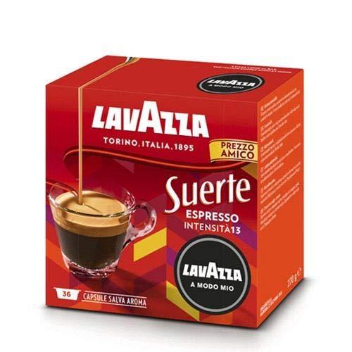 Lavazza a Modo Mio Espresso Suerte Kaffeekapseln, 36 Stück