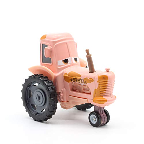 Desconocido Disney 21 Styles Disney Pixar Cars 2 Frank Metal Diecast Toy Car 1:55 Loose In Stock & Lightning Mcqueen 15