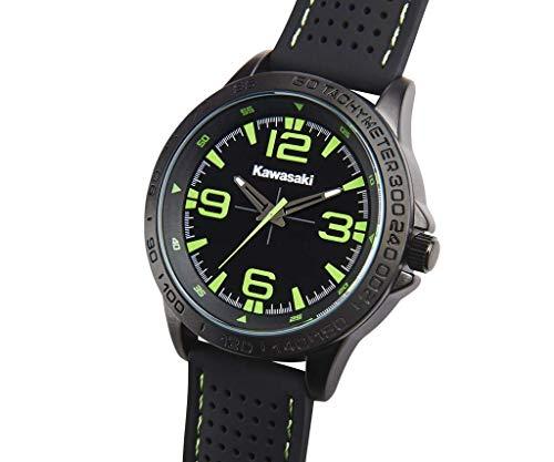 Kawasaki Armbanduhr schwarz