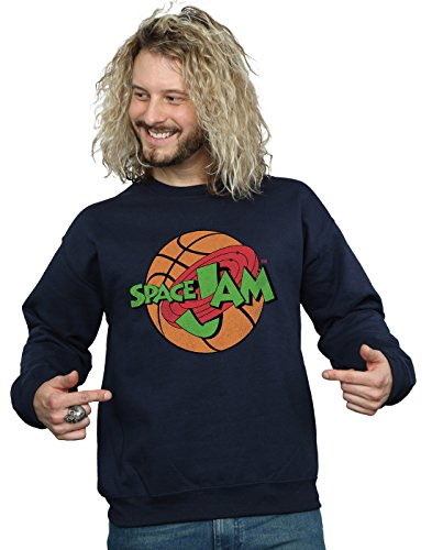 SPACE JAM Herren Simple Logo Sweatshirt XXX-Large Marine