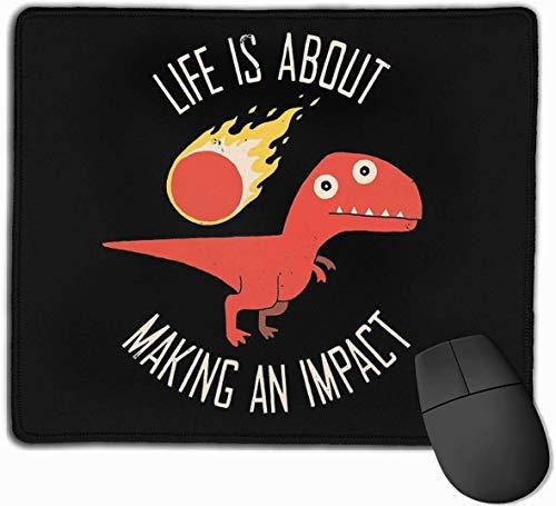 Het maken van een impact Gaming Mouse Pad Niet-slip Rubber Mousepad voor Computers Desktops laptop Mouse Mat 9.8