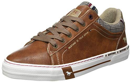 MUSTANG Herren 4146-305 Sneaker, 307 Cognac, 44 EU