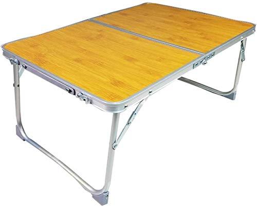 LHY bijzettafel voor de laptop, Easy Desk, opvouwbaar, klein, voor buiten, antislip