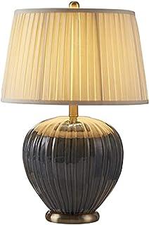 Lampe de bureau à la chambre Lampe de table en céramique Chambre à coucher Lampe de chevet 23inch Lampe de table E27 Port...