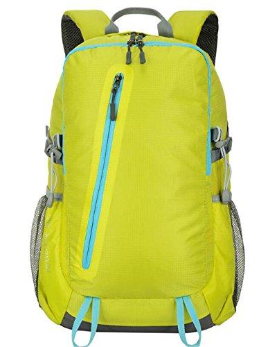 sac à dos randonnée escalade extérieur sac épaule sac hommes et les femmes voyagent sac à dos de camping randonnée 28L Sacs à dos de randonnée ( Couleur : Le jaune , taille : 28L )