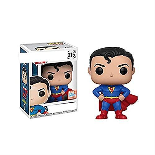 Pop Marvel Super Hero Superman 215 # Figura De Vinilo Figuras De Acción Colección Modelo Juguetes Regalo
