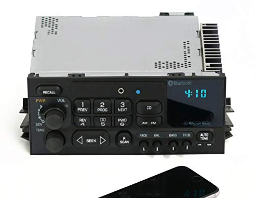 1 Factory Radio AM FM Radio w Aux Input Bluetooth CD Controls Compatible With 1995-05 Chevrolet GMC Truck