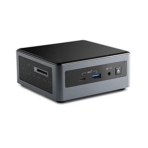Mini PC - CSL Intel NUC Core i7-10710U inkl. Windows 10 Pro - 6X 1600MHz, 16 GB RAM, 500GB SSD, Intel UHD Graphics, USB 3.1 Gen2, WLAN, Windows 10 Pro