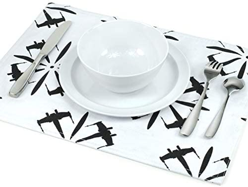 Seven20 SW11166 Star Wars Fighter Placemat Medium White product image