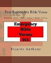 500 Bible verses for First Responders: Poplular Bible Verses today's Major Crises