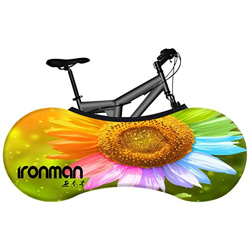 Y-Rachael Indoor Bike Storage Bag Bicycle Wheel Cover Anti-Dust Washable Elastic Bicycle Scratch-Proof Protective Gear Tire Package,26