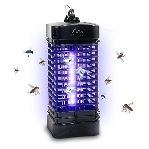 Gardigo Insektenvernichter 25 m² I Mückenfalle gegen Mücken, Fliegen, Moskitos I Elektronischer Mückenschutz mit UV Licht