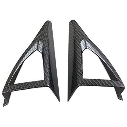 Ctyg Delante de un Pilar del Marco del Altavoz del Altavoz del Cuerno Pegatina Ajuste de la Cubierta Interior Accesorios ABS/Ajuste for el Peugeot 3008 GT 2017 2018