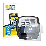 BROTECT 2X Entspiegelungs-Schutzfolie kompatibel mit Bosch Intuvia Performance Line (E-Bike Display) Matt, Anti-Reflex, Anti-Fingerprint