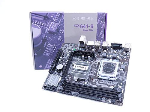 Placa Mãe Kazuk - Intel G41 Ddr3 Lga 775-8gb - 1333mhz