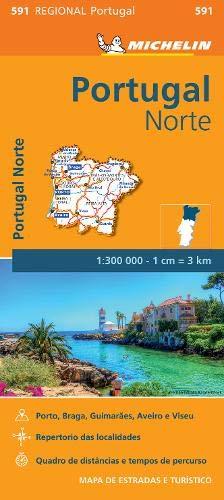 Mapa Regional Portugal Norte (Carte regionali)