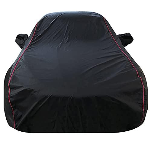 Sunberme Autoabdeckung Kompatibel mit Nissan Rogue Schwarz Auto Wasserdicht Autohülle Abdeckung Autoabdeckplane Autoplane Vollgarage Winter Sommer Autogarage