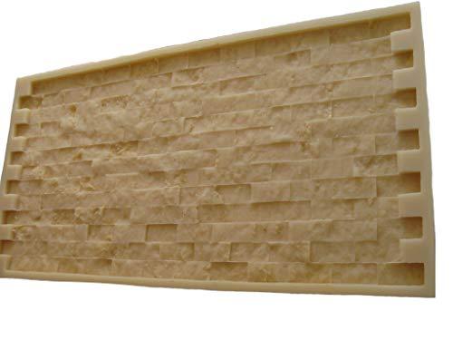 GlobMarble Mosaic Stone Rubber Mold. Concrete Veneer Paver. Ms 821/1