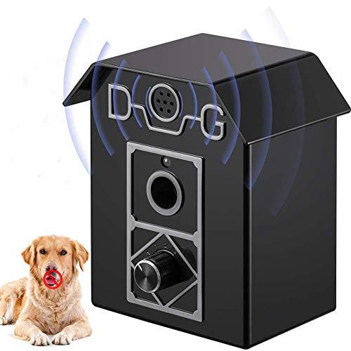 ULTPEAK Antiladridos Perros,Adiestramiento Perros No Electrico, Anti ladridos Dispositivo Ultrasonidos Antiladridos para Perros, Control de Corteza para Perros