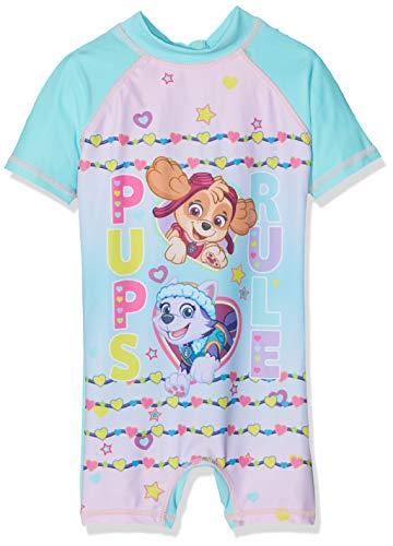 Nickelodeon Mädchen Paw Patrol Thermounterwäsche-Set, Blau (Blue Atoll), 5 Jahre
