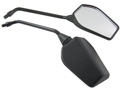 E-geprüftes Spiegel Set Yamaha XT 550, 600, 650, 600 / XJ 550, 600, 650, 660 / Rückspiegel Yamaha TDM 850, TDM 900 / V-Max 1700