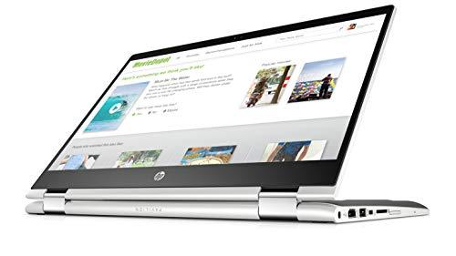 HP Pavilion x360 Convertible, Pantalla de 14″ HD, Procesador Intel Core 8ª generación i3-8145U(2b), 4GB…