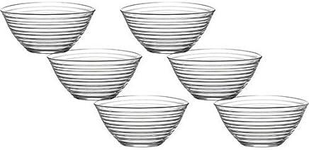 Besten Preis für LAV 6tlg Glasschalen Derin Schalen Glasschale Dessertschale Vorspeise Glas Gläser 300ml bei geschirr-verleih.eu