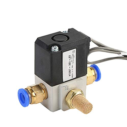 FLY MEN Herramientas Profesionales 12V / 24V / 220V VT307 / VT307V Series Válvula solenoide de Alta frecuencia VT307-3/4/5 / 6G1-01/02 Válvula de vacío VT307-3/4/5 / 6G-01 Reemplace SMC Industri