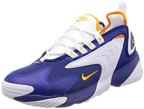 Nike Zoom 2k, Chaussures de course Homme - Multicolore (Deep Royal Blue/Orange Peel/White 400) - 43 EU