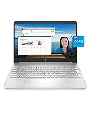 "HP 15 Laptop, 11th Gen Intel Core i5-1135G7 Processor, 8 GB RAM, 256 GB SSD Storage, 15.6"" Full HD IPS Display, Windows 10 Home, HP Fast Charge, Lightweight Design (15-dy2021nr, 2020) from Hewlett Packard"