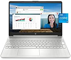 """HP 15 Laptop, 11th Gen Intel Core i5-1135G7 Processor, 8 GB RAM, 256 GB SSD Storage, 15.6"""" Full HD IPS Display, Windows..."""