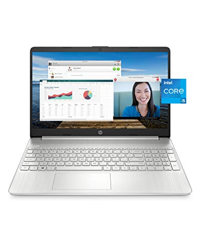 HP 15 Laptop, 11th Gen Intel Core i5-1135G7 Processor, 8 GB RAM, 256 GB SSD Storage,...