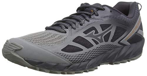Mizuno Wave Ibuki 2, Zapatillas de Running para Asfalto Hombre, Gris (Gray/Pscope/10135 C 36), 43 EU