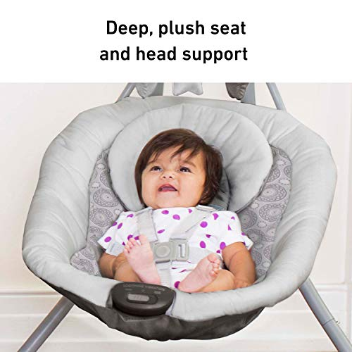 41B9oYGCfpL 9 of the Best Baby Swing for Small Spaces (Apartments) 2021