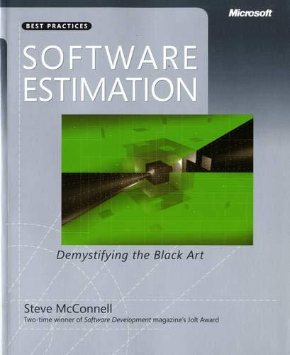 Software Estimation: Demystifyin...