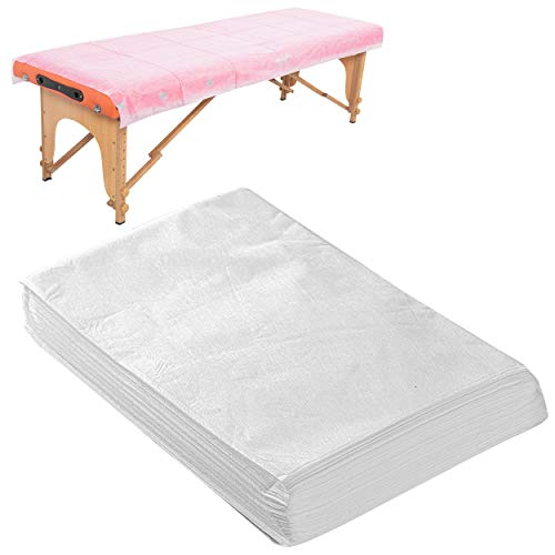 20 PCS Massage Table Sheets Disposable Non Woven SPA Bed Cover Breathable Polypropylene Fabric 31