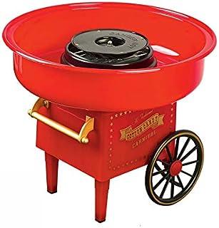 Machine à Barbe à Papa Rétro en Acier Inoxydable Cotton Candy Machine 220 v / 500 w Professionnel Vintage Cadeaux De Fête ...