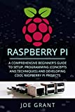 Raspberry Pi: A Comprehensive Beginner's Guide to Setup, Programming(Concepts and techniques) and Developing Cool Raspberry Pi Projects (English Edition)