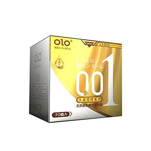 chivalrylist Kondome superdünne, Orgasmic Kondome, gerippt und genoppt mit stimulierendem Gel, 10 Stück