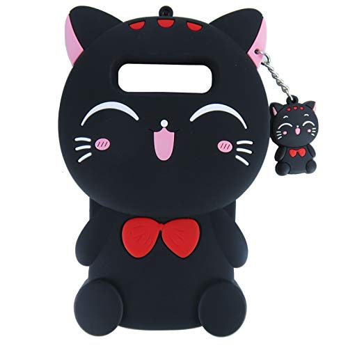 EMF Cute Plutus Cat Case for Samsung Galaxy S10e/S10 Lite,3D Cartoon Animal Silicone Protective Kawaii Funny Character Cover,Animated Cool Skin Case for Kids Teens Guys(Plutus Cat,Samsung Galaxy S10e)
