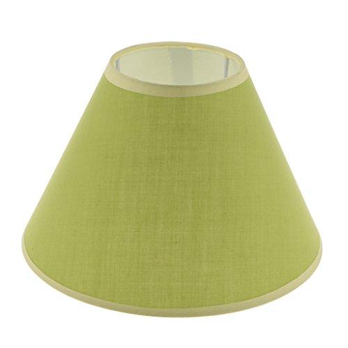 HomeDecTime Sombra De Luz Creativa Sombra De Luz Estándar Pantalla De Lámpara Colgante Accesorio De Iluminación - Verde, Individual